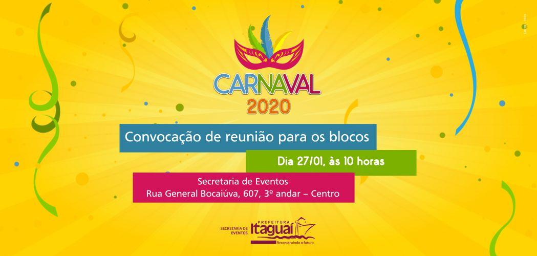 Blocos de carnaval 2020